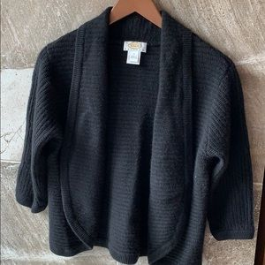 Talbots open from sweater
